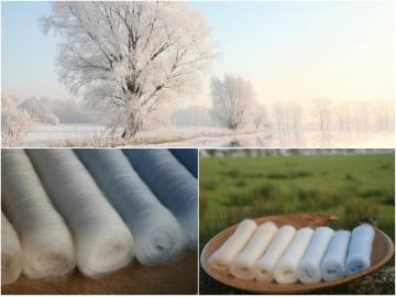 Winter Wonderland Gradient Batt Set - 100g