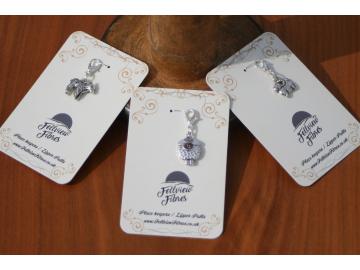 Sheep Family - Progress Markers / Zipper Pulls