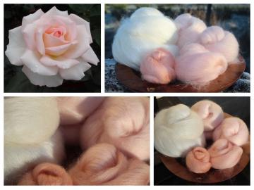 Bloom of Ruth - 130g Fibonacci Gradient Batt set.