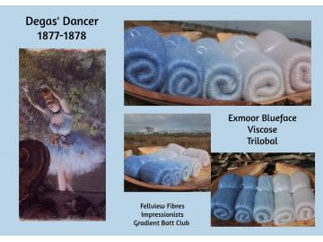 Degas' Dancer - Gradient Set