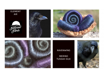 Ravenwing rolags