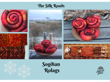 Sogdian Rolags - 100g
